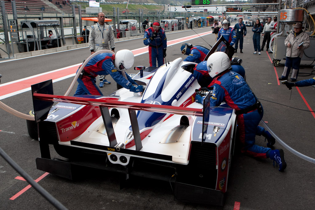 RML Stop - Chassis: B0880-HU03   - 2010 Le Mans Series Spa 1000 km