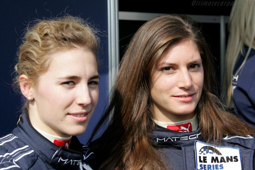 Rahel Frey and Cyndie Allemann    - 2010 Le Mans Series Spa 1000 km
