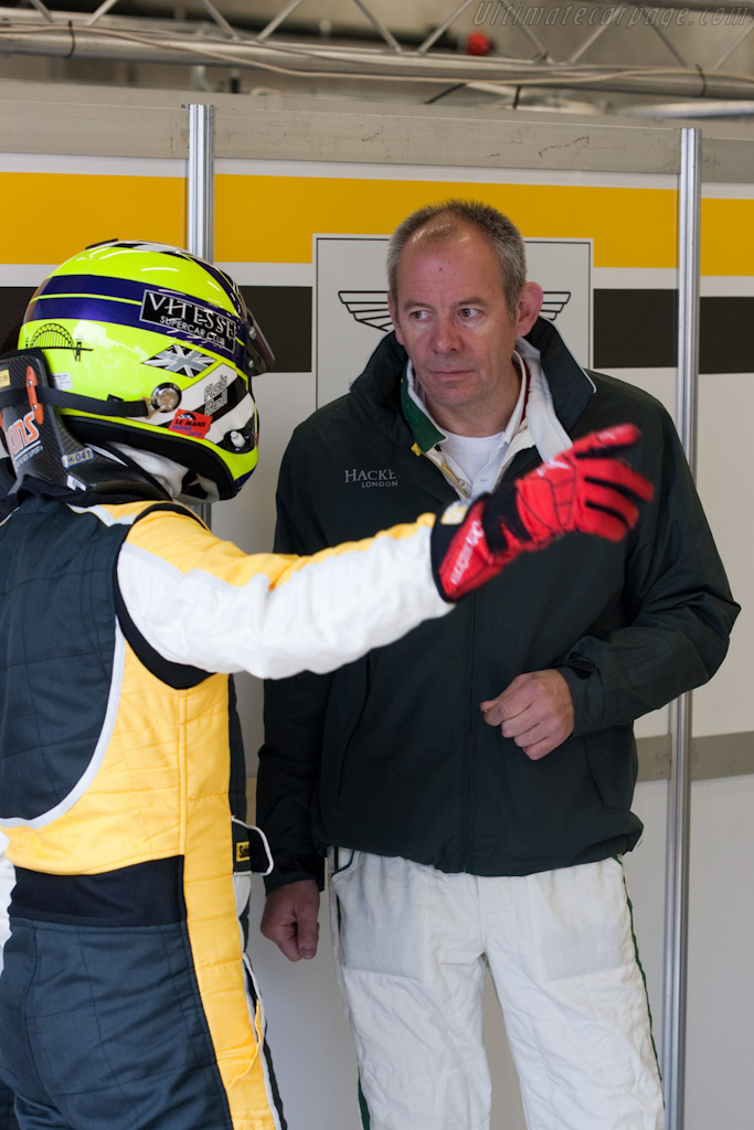 Rob Bell and George Howard-Chapel    - 2010 Le Mans Series Spa 1000 km