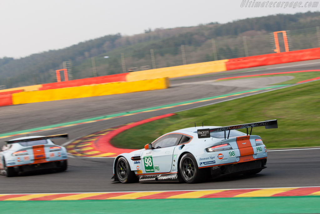 Aston Martin V8 Vantage GTE - Chassis: GTE-005   - 2013 WEC 6 Hours of Spa-Francorchamps