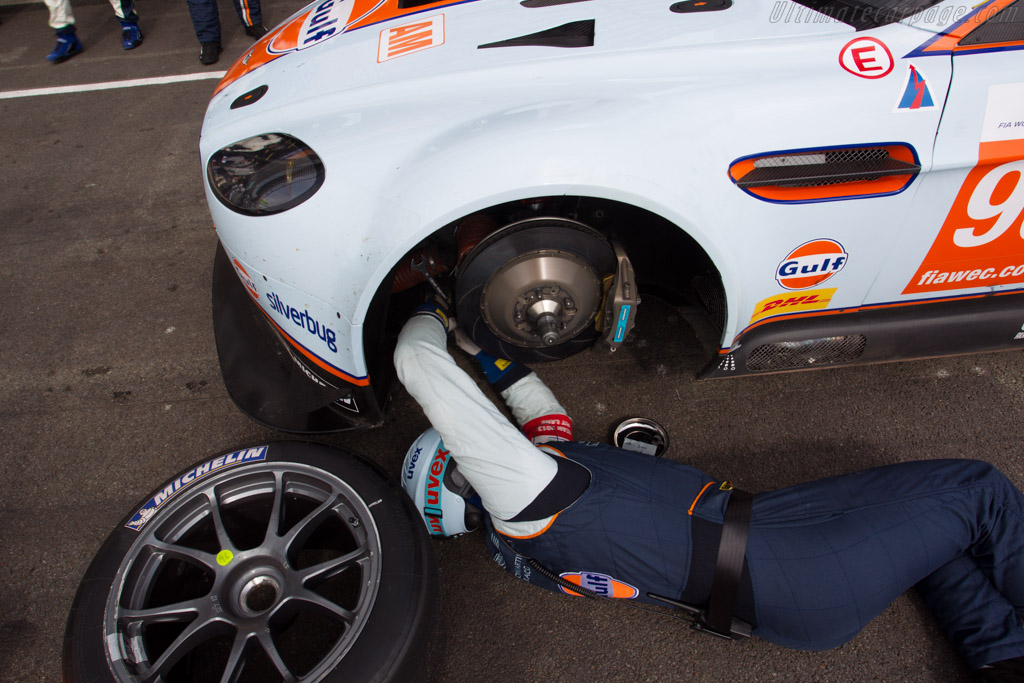 Aston Martin V8 Vantage GTE - Chassis: GTE-009   - 2013 WEC 6 Hours of Spa-Francorchamps