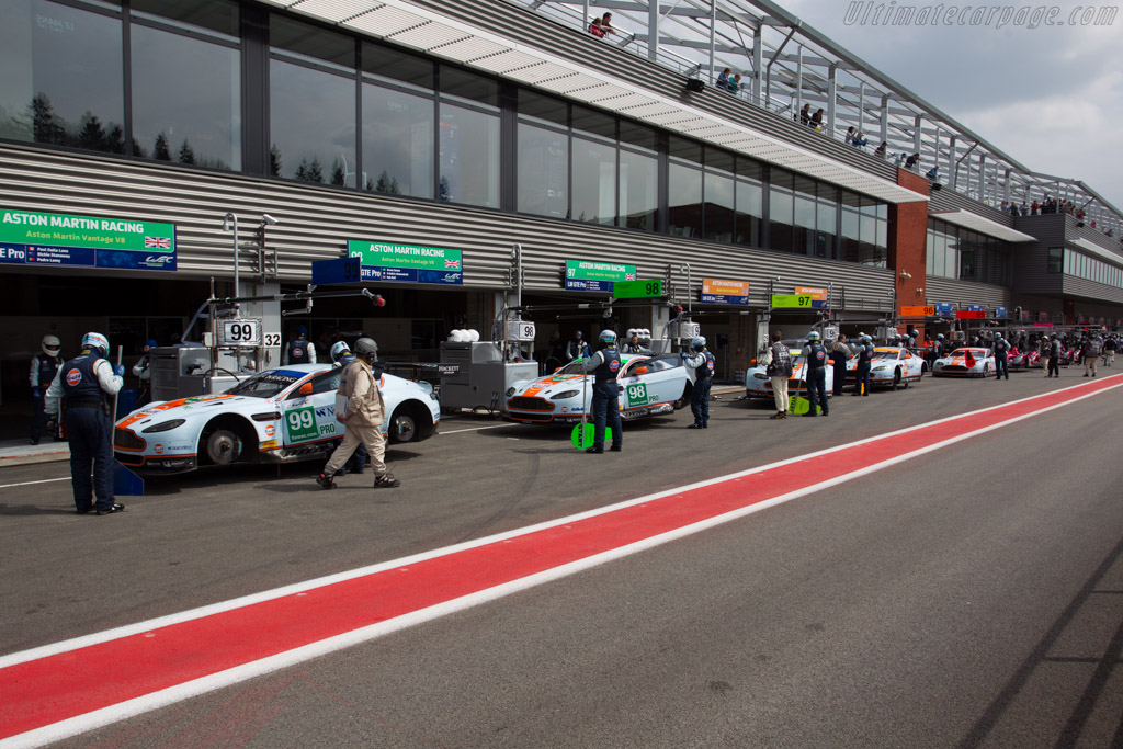 Aston Martin V8 Vantage GTE - Chassis: GTE-003   - 2013 WEC 6 Hours of Spa-Francorchamps