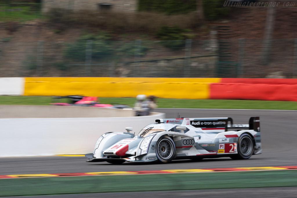 Audi R18 E Tron Quattro >> Audi R18 e-tron quattro - 2013 WEC 6 Hours of Spa-Francorchamps
