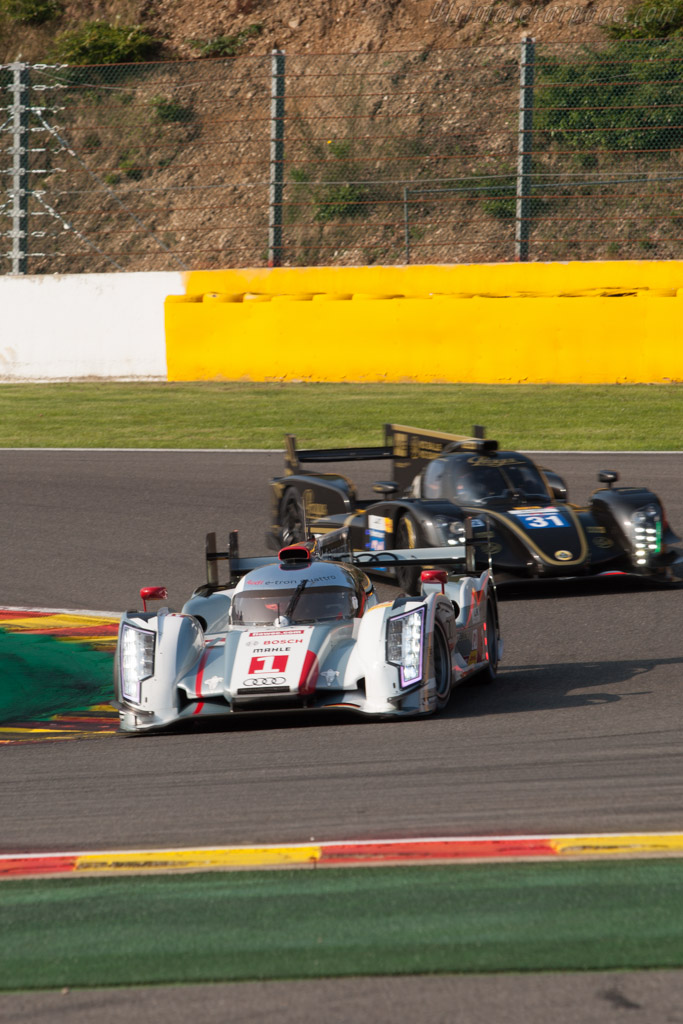 Audi R18 e-tron quattro    - 2013 WEC 6 Hours of Spa-Francorchamps
