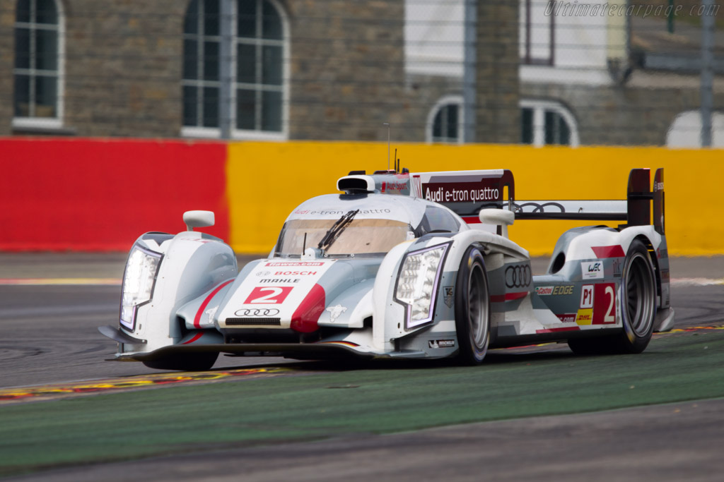 Audi R18 E Tron Quattro 2013 Wec 6 Hours Of Spa