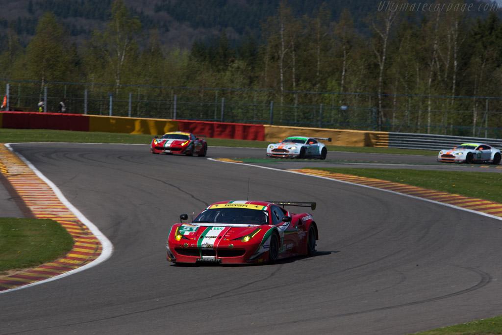Ferrari 458 Italia GT    - 2013 WEC 6 Hours of Spa-Francorchamps