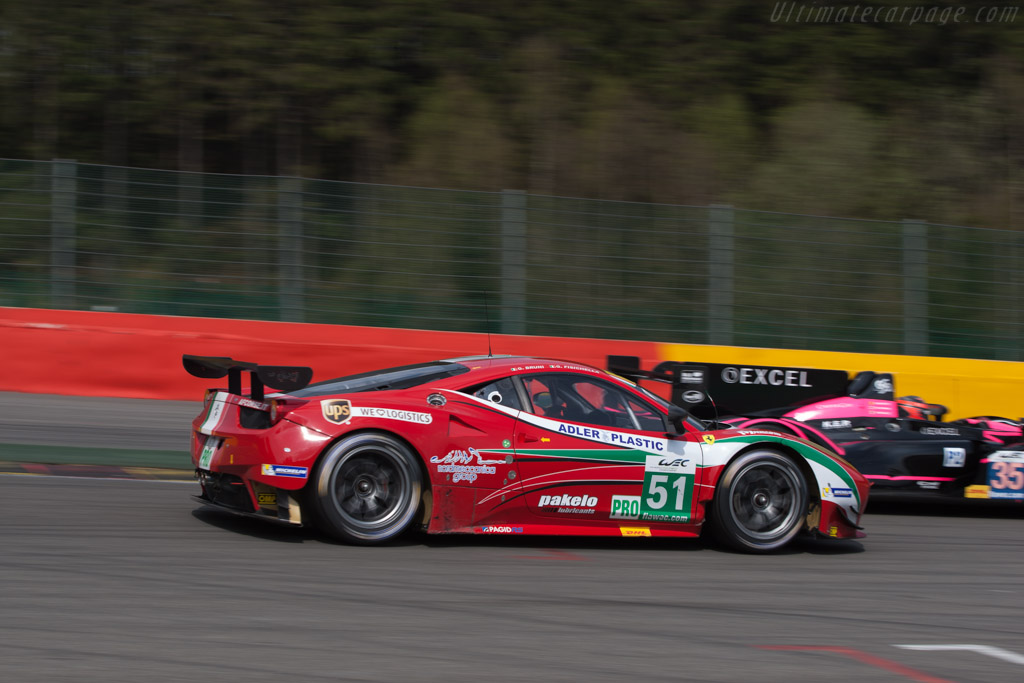 Ferrari 458 Italia GT    - 2013 WEC 6 Hours of Spa-Francorchamps