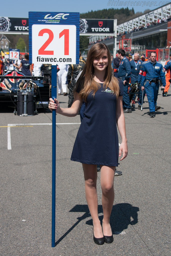 Grid girl    - 2013 WEC 6 Hours of Spa-Francorchamps
