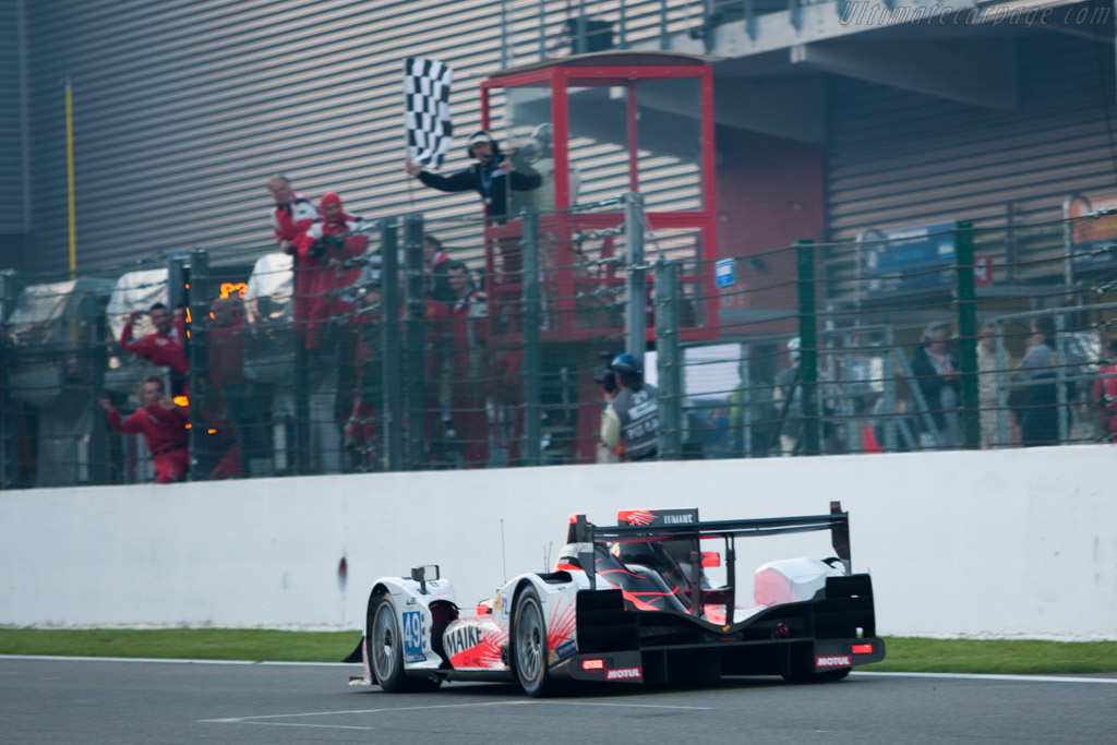 LMP2 winner    - 2013 WEC 6 Hours of Spa-Francorchamps