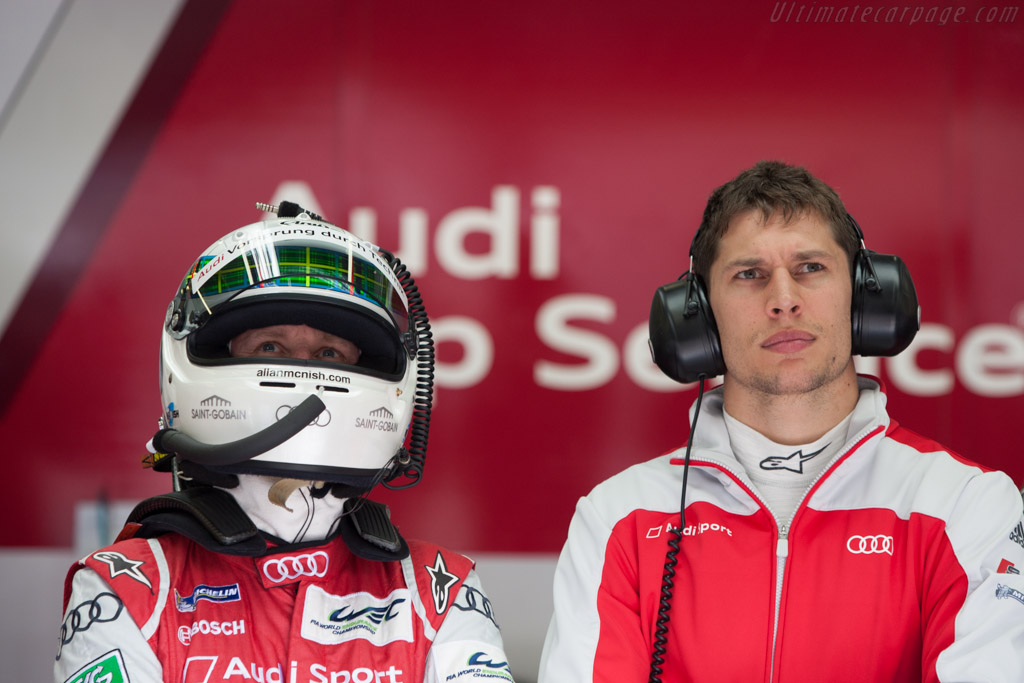 McNish and Duval    - 2013 WEC 6 Hours of Spa-Francorchamps