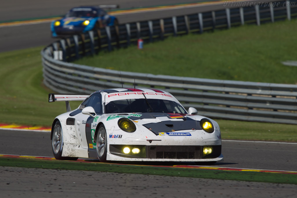 Porsche 911 RSR    - 2013 WEC 6 Hours of Spa-Francorchamps