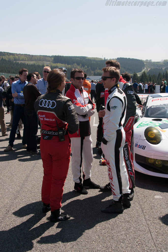 Porsche drivers    - 2013 WEC 6 Hours of Spa-Francorchamps