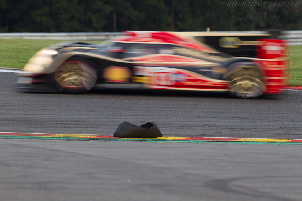 Racing debris    - 2013 WEC 6 Hours of Spa-Francorchamps