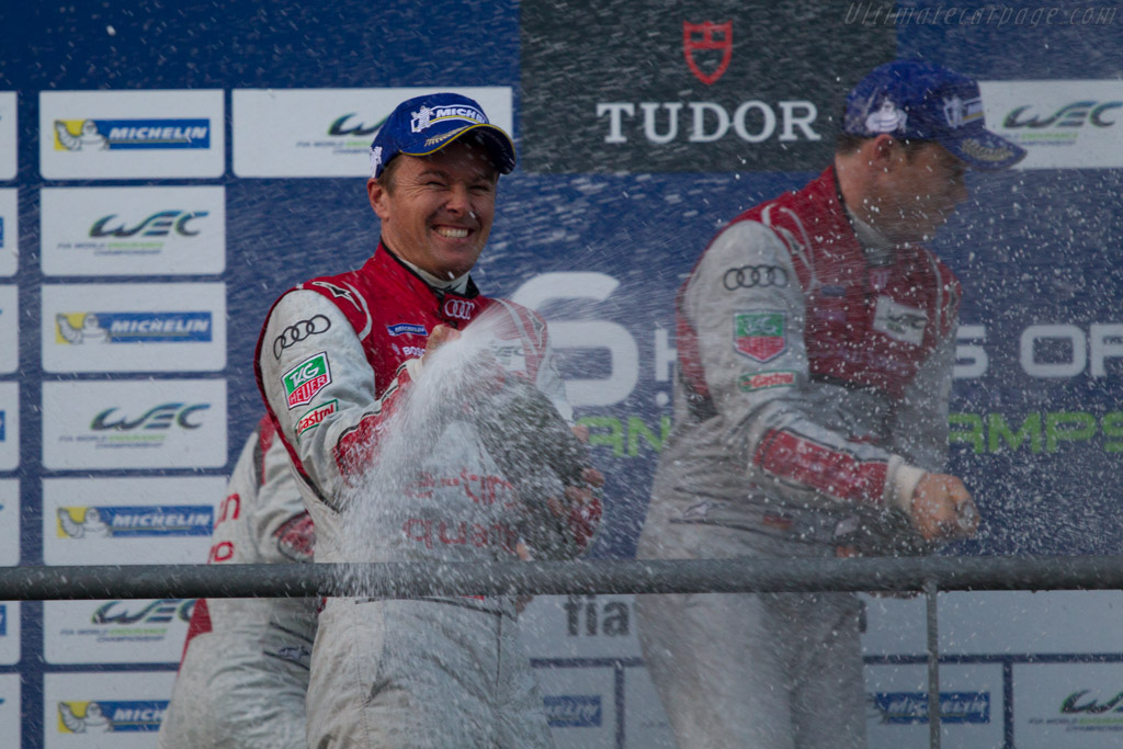 The podium    - 2013 WEC 6 Hours of Spa-Francorchamps