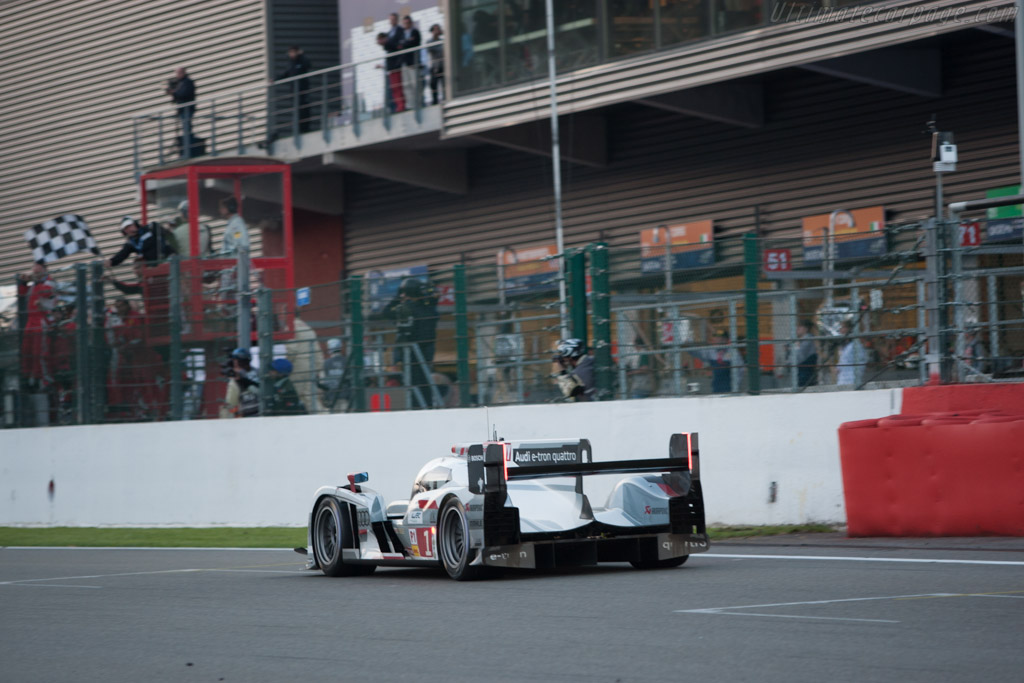 The winners    - 2013 WEC 6 Hours of Spa-Francorchamps