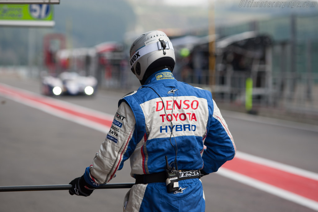 Toyota stop    - 2013 WEC 6 Hours of Spa-Francorchamps