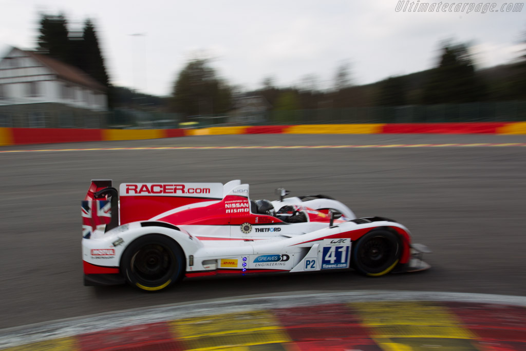 Zytek Z11SN Nissan    - 2013 WEC 6 Hours of Spa-Francorchamps