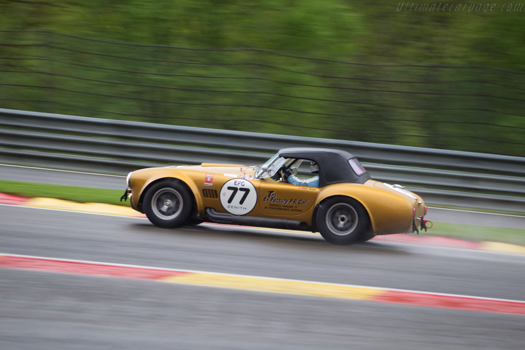 AC Shelby Cobra 427 - Chassis: CSX3120 - Driver: Alain Ruede  - 2017 Spa Classic