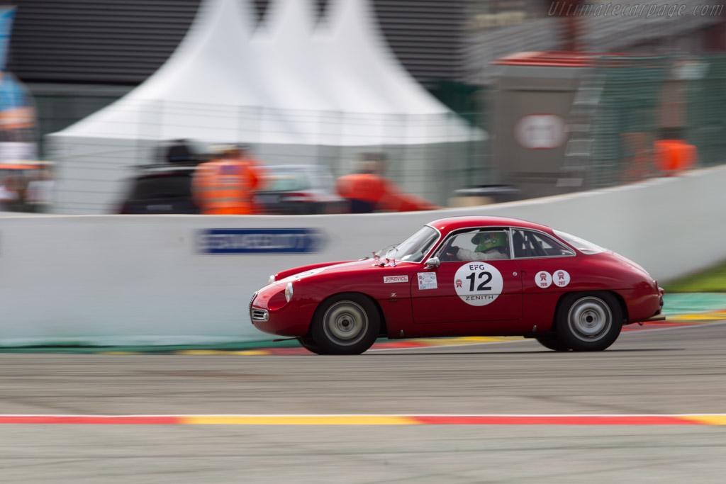 Alfa Romeo Giulietta SZ Coda Tonda - Chassis: AR10126 00086 - Driver: Jean Francois Piquet  - 2017 Spa Classic