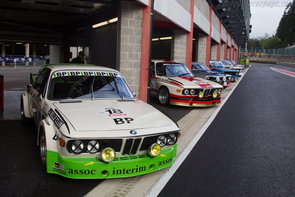 BMW 3.0 CSL - Chassis: 4340904 - Driver: Eric Everard  - 2017 Spa Classic