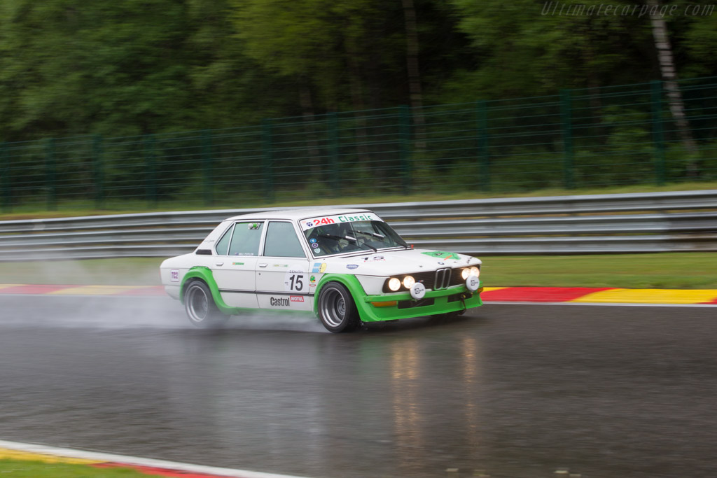 BMW M535i Martini - Chassis: MR 181 - Driver: Bill Cuttler  - 2017 Spa Classic