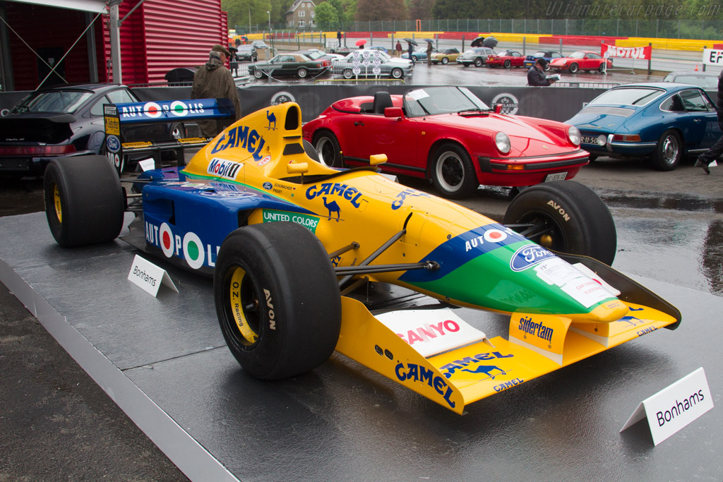 Benetton B191 Ford - Chassis: B191-02   - 2017 Spa Classic