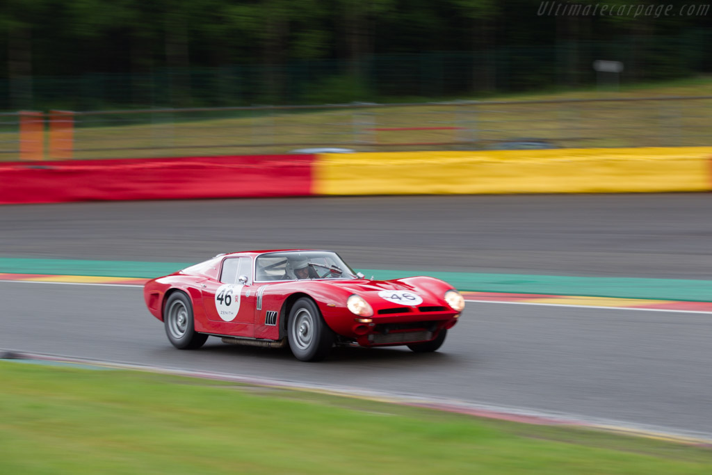 Bizzarrini 5300 GT  - Driver: Christian Bouriez  - 2017 Spa Classic