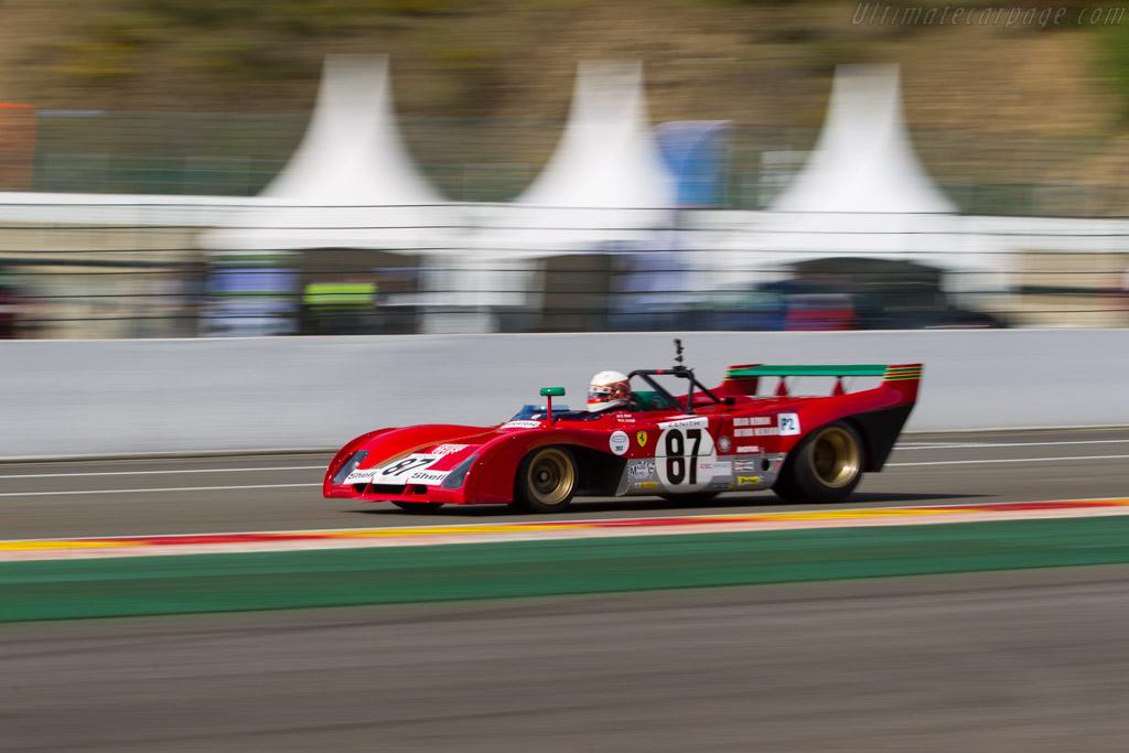 Ferrari 312 PB - Chassis: 0892 - Driver: Steven Read / Giovanni Lavggi  - 2017 Spa Classic