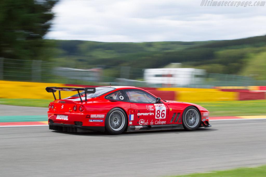 Ferrari 550 Maranello GTS - Chassis: 108612 - Driver: Steve Zacchia  - 2017 Spa Classic
