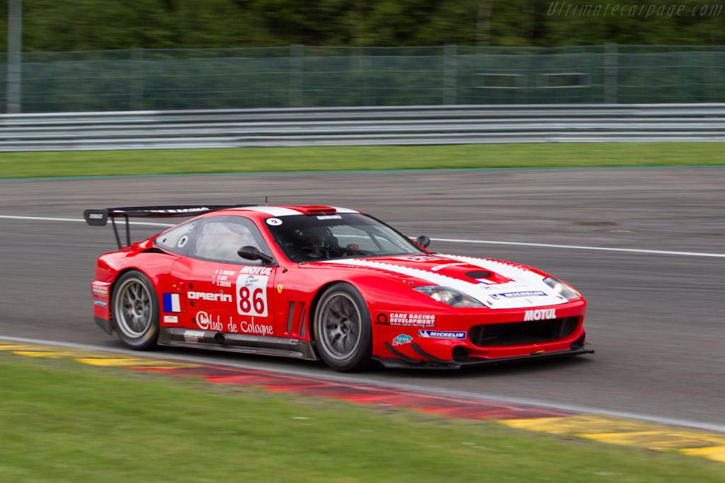 Ferrari 550 Maranello GTS - Chassis: 108612 - Driver: Steven Read  - 2017 Spa Classic