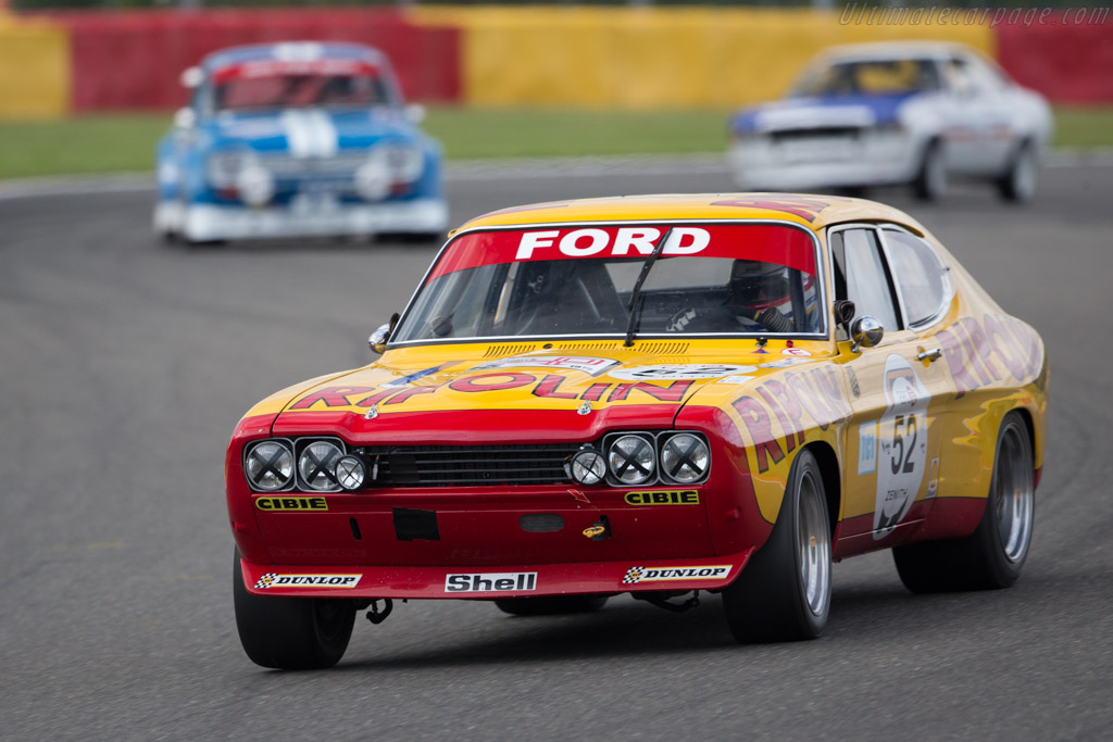 Ford Capri RS 2600 - Chassis: GAECLE42482 - Driver: Yves Scemama  - 2017 Spa Classic