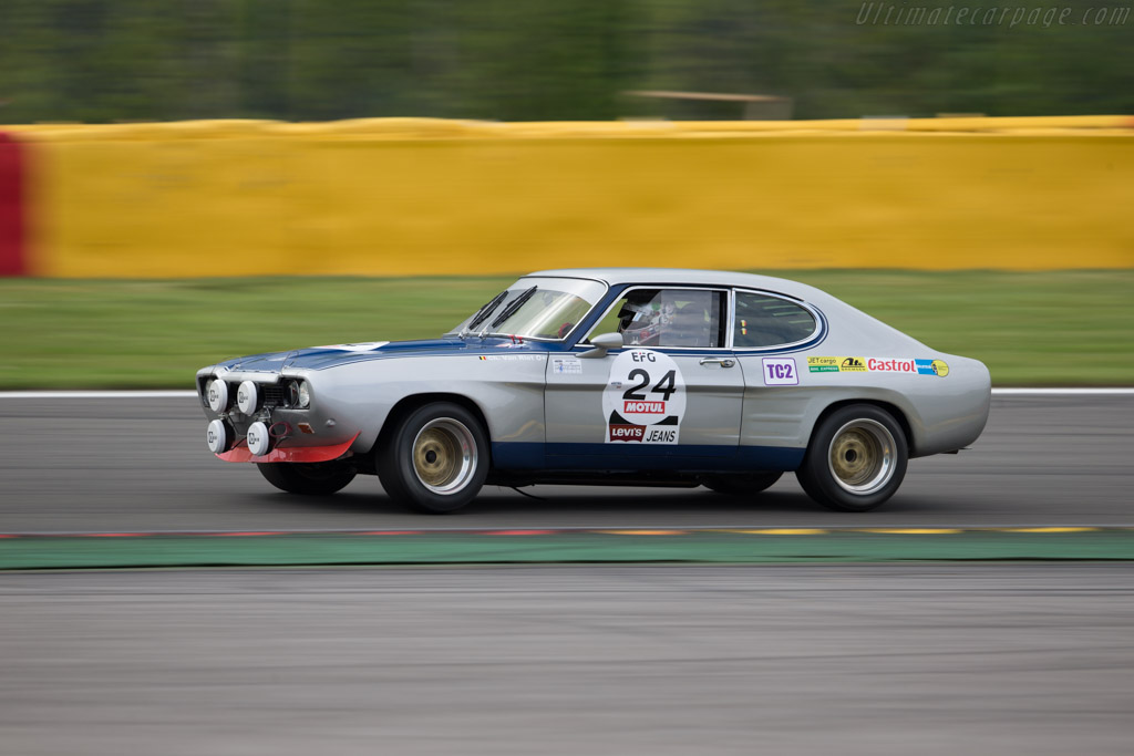 Ford Capri RS 2600 - Chassis: GAECKU19998 - Driver: Christophe van Riet  - 2017 Spa Classic