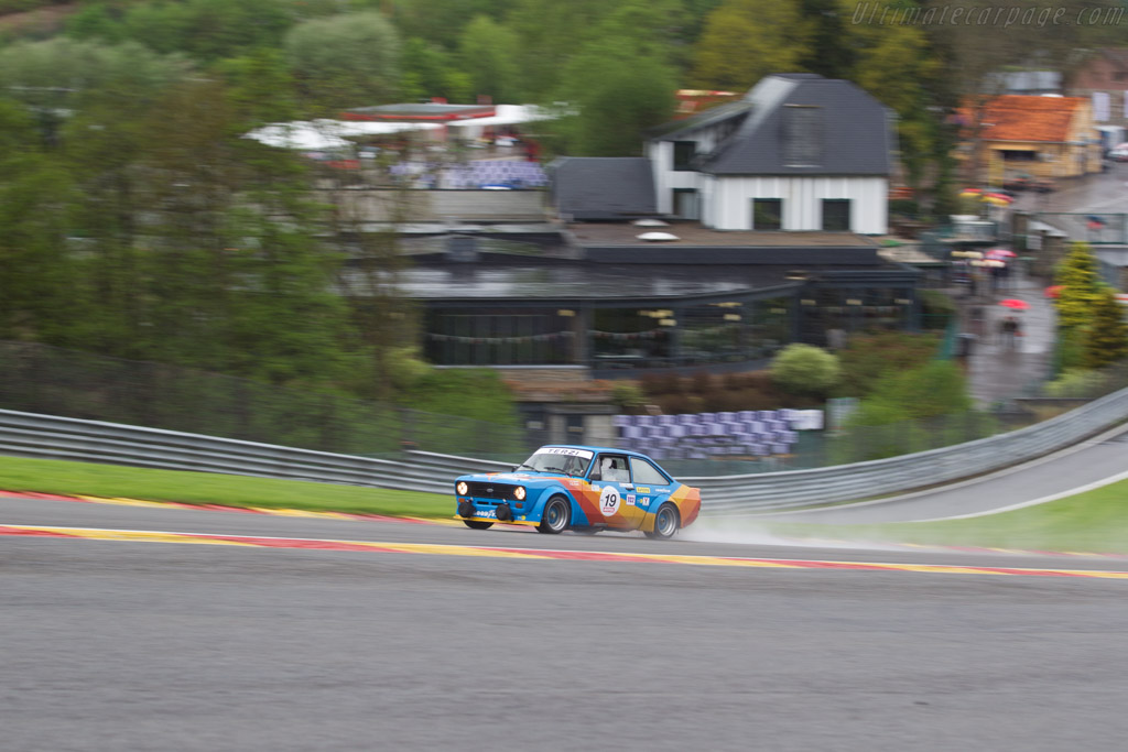 Ford Escort RS 1800 - Chassis: TERZI 08 - Driver: Geoffrey Peter / Christian Baud  - 2017 Spa Classic