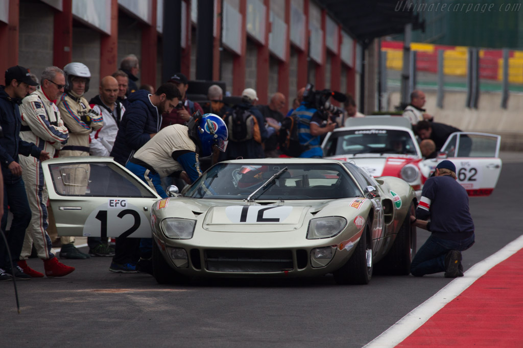 Ford GT40 - Chassis: GT40P/1078 - Driver: Claude Nahum / Bernard Thuner  - 2017 Spa Classic