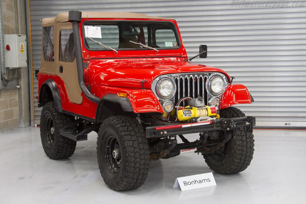 Jeep CJ-5 - Chassis: J8F83AH042831   - 2017 Spa Classic
