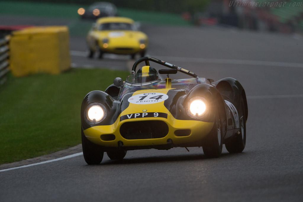 Lister Jaguar Knobbly - Chassis: BHL 3 - Driver: Anthony Schrauwen / Jan Gijzen  - 2017 Spa Classic