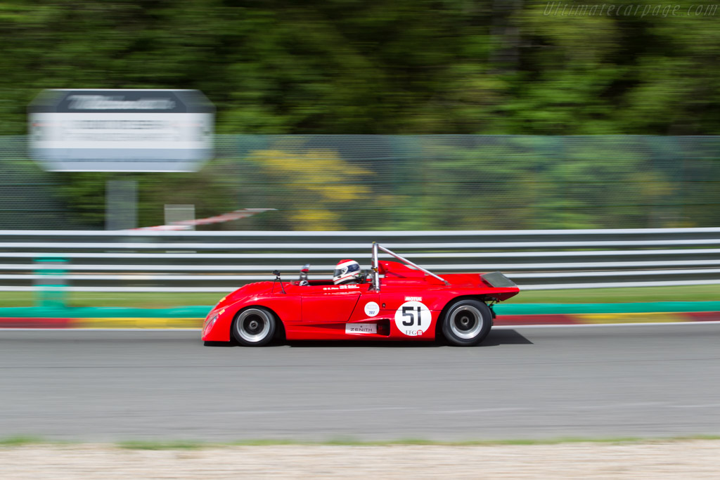 Lola T290 - Chassis: HU34 - Driver: Gianluca Rattazzi / Emanuele Pirro  - 2017 Spa Classic