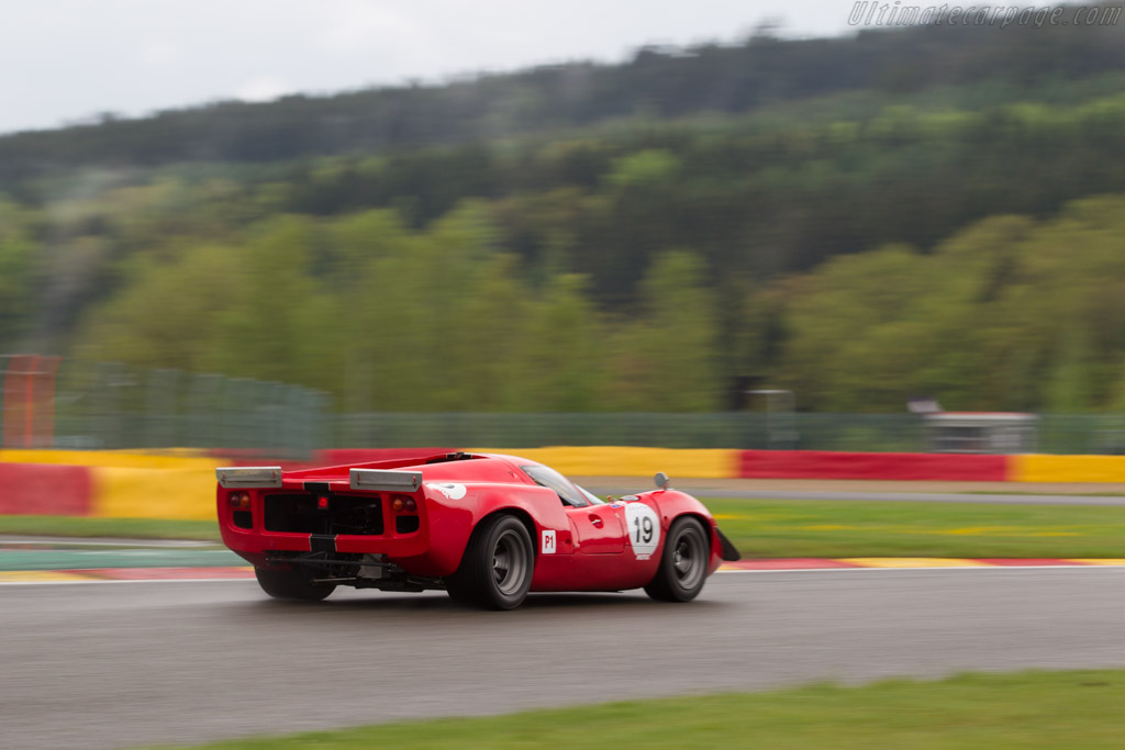 Lola T70 Mk3 Coupe - Chassis: SL73/110 - Driver: Bernard Thuner  - 2017 Spa Classic