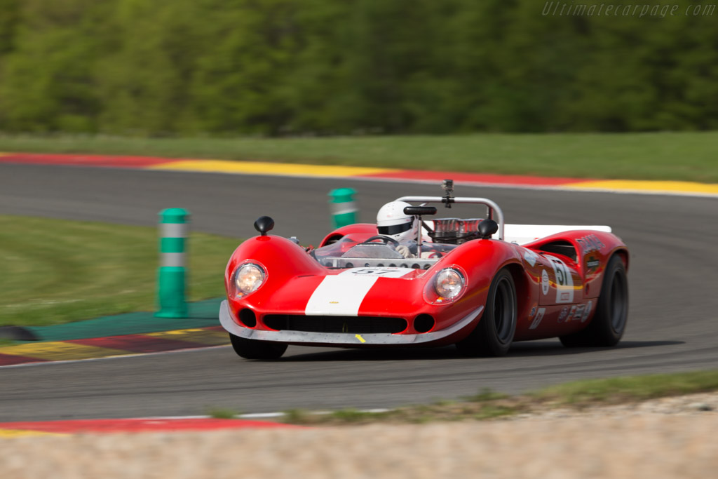 Lola T70 Mk3 Spider - Chassis: SL73/114 - Driver: Christopher Gadais  - 2017 Spa Classic
