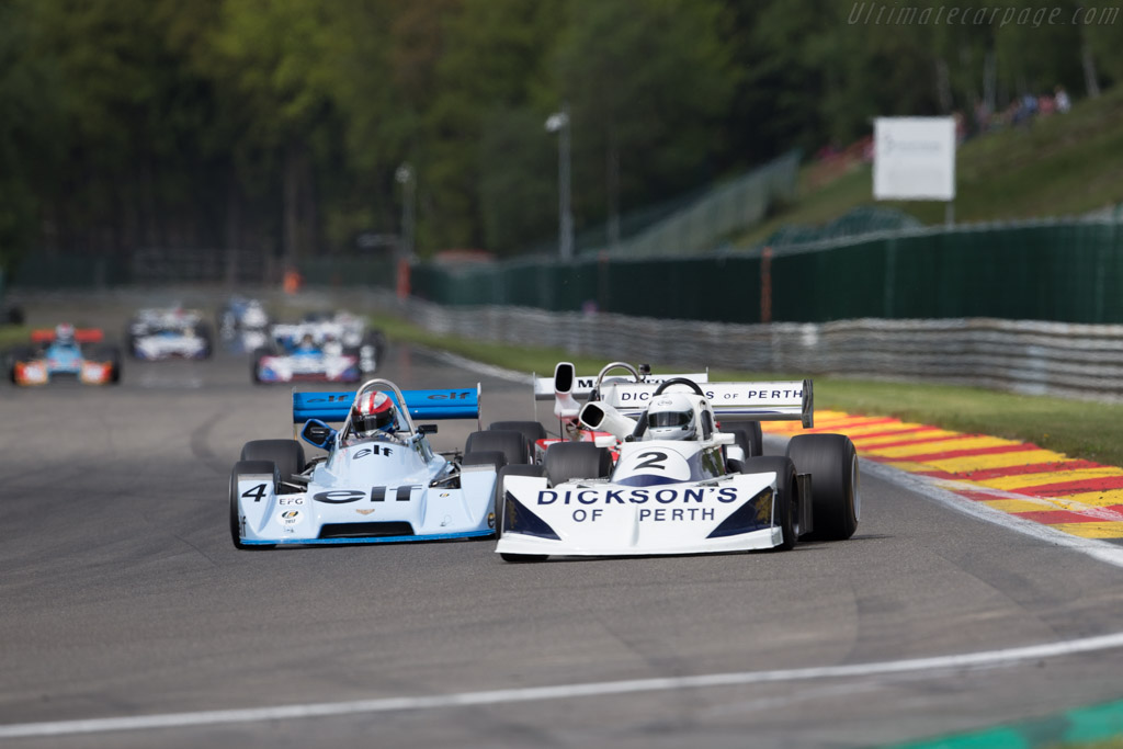 March 772 - Chassis: 772-3 - Driver: Matthew Watts  - 2017 Spa Classic