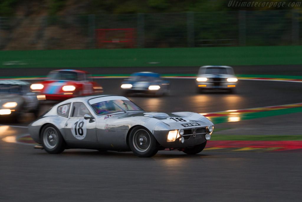 Morgan +4 SLR - Chassis: SLR4 - Driver: John Emberson / Bill Wykeham  - 2017 Spa Classic