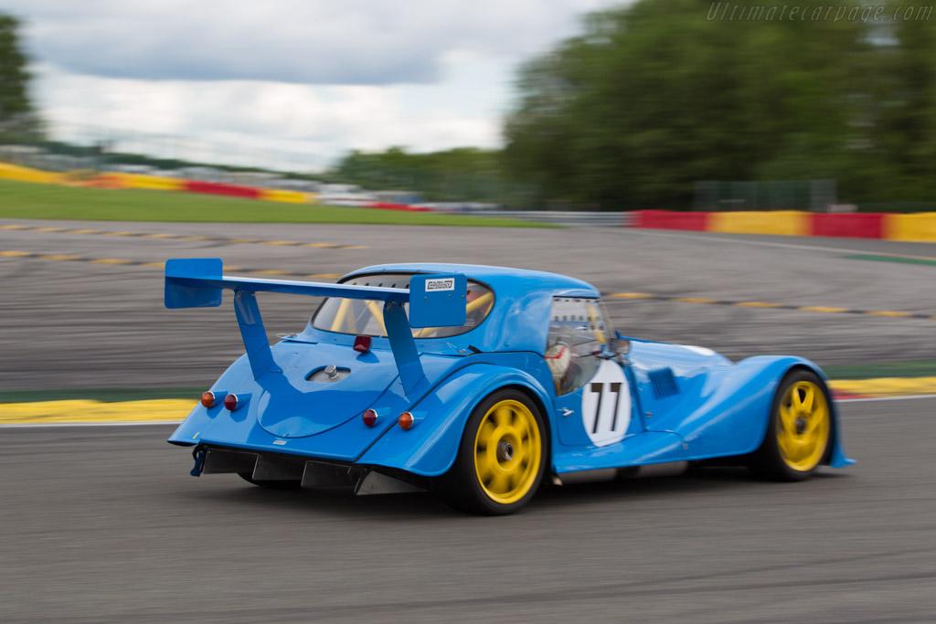 Morgan +8 GT1 - Chassis: 1 - Driver: Adrian van der Kroft  - 2017 Spa Classic