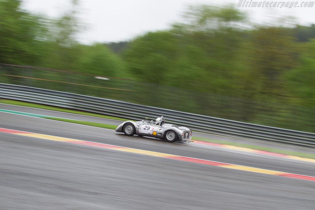 Porsche 550A Durlite  - Driver: Albert Otten  - 2017 Spa Classic
