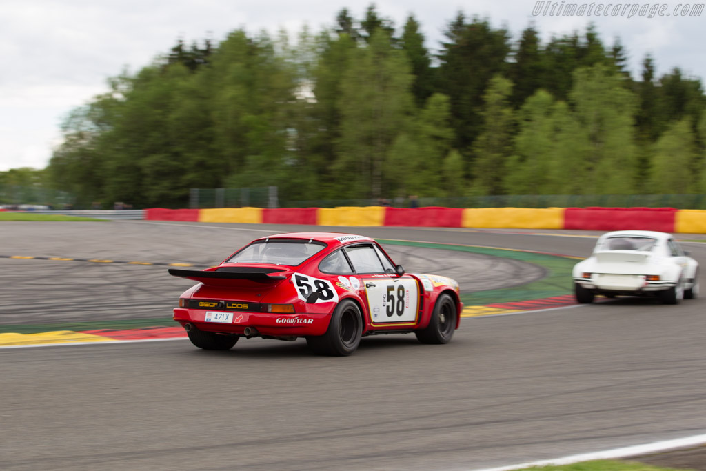 Porsche 911 Carrera RSR 3.0 - Chassis: 911 460 9116 - Driver: Urs Beck  - 2017 Spa Classic
