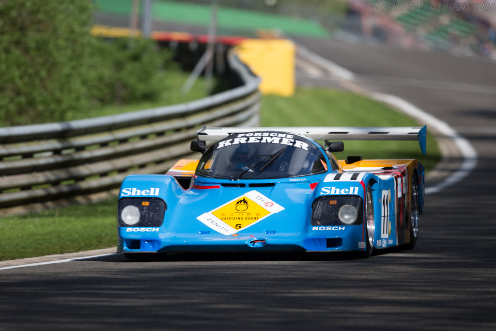 Porsche 962 CK6 - Chassis: CK6-06/02 - Driver: Nicolas d'Ieteren  - 2017 Spa Classic