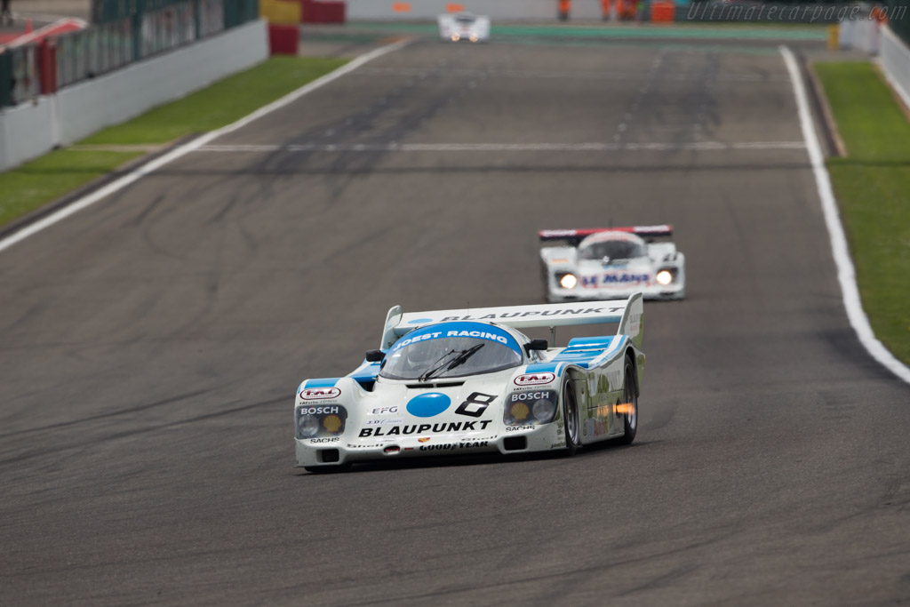 Porsche 962C - Chassis: 962-116 - Driver: George Nakas  - 2017 Spa Classic