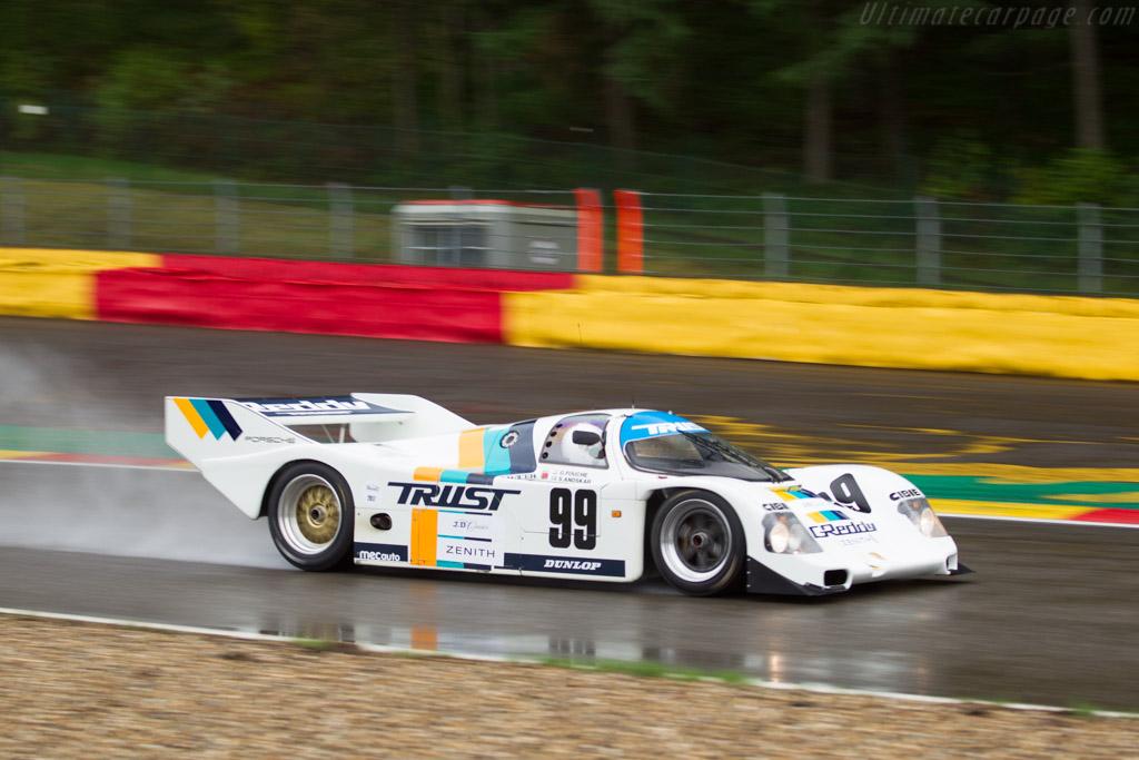 Porsche 962C - Chassis: 962-166 - Driver: Mischa Strijder  - 2017 Spa Classic