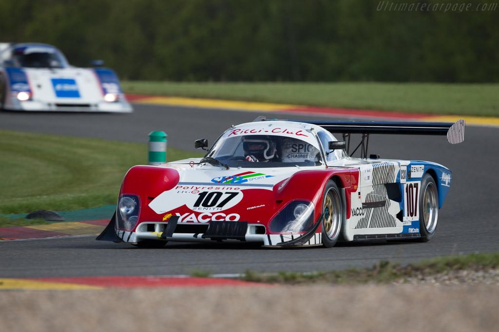 Spice SE88C - Chassis: SE88C-002 - Driver: Thomas Dozin  - 2017 Spa Classic