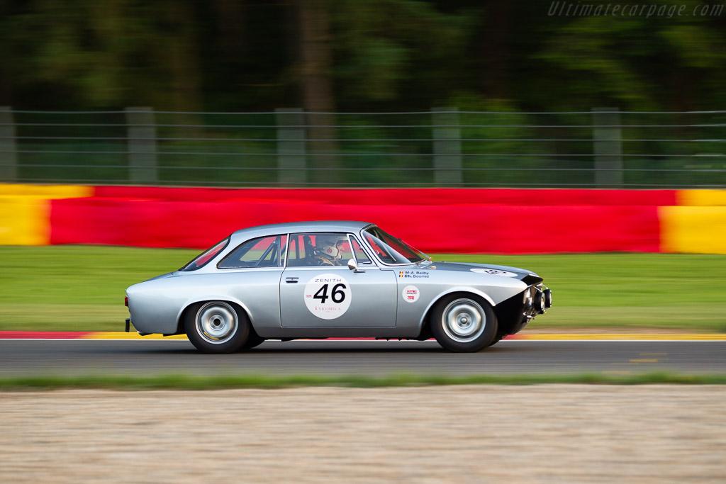Alfa Romeo Gulia Sprint GT - Chassis: 617732 - Driver: Christian Bouriez / Marc-Antoine Bailby  - 2018 Spa Classic