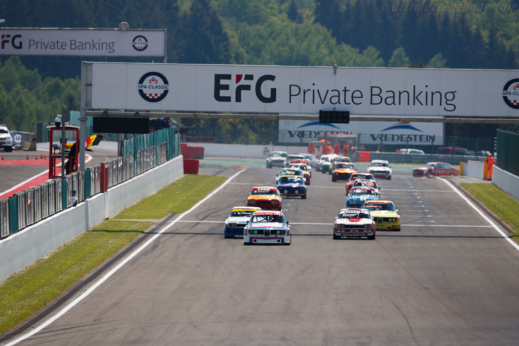BMW 3.0 CSL - Chassis: 4300096 - Driver: Christian Traber  - 2018 Spa Classic